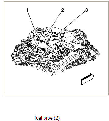where in the cadillac cts 2006 3 6 engine is the fuel line located rh justanswer com 2006 Cadillac STS Headlamp Replacement 2006 Cadillac STS Owner's Manual
