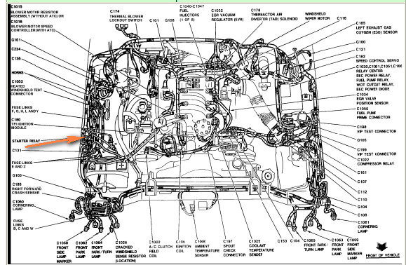 1999 ford crown victoria engine diagram  ford  auto parts