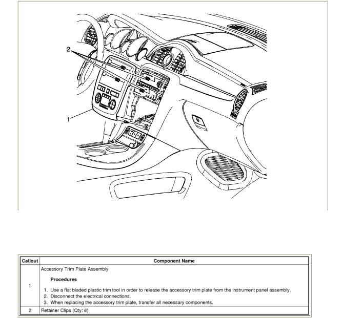 service manual  2009 buick enclave digram for a rear floor