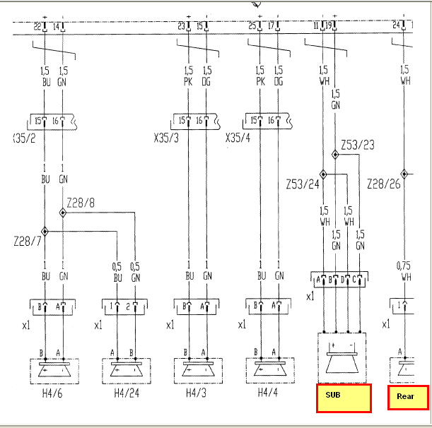2003 Mercedes Ml350 Radio Wiring Diagram