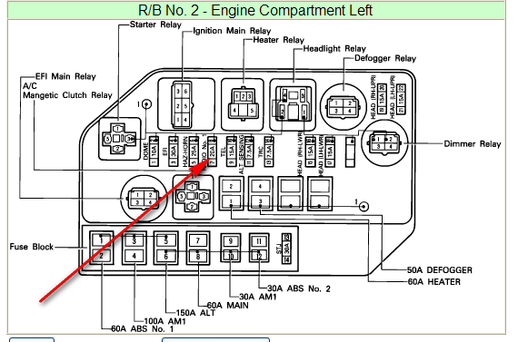 2012 05 29_232549_rad1 1993 lexus ls400 fuse box locations lexus wiring diagrams for sc400 wiring diagram at soozxer.org