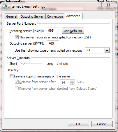 I can send but not receive email in Outlook 2007  Problem just