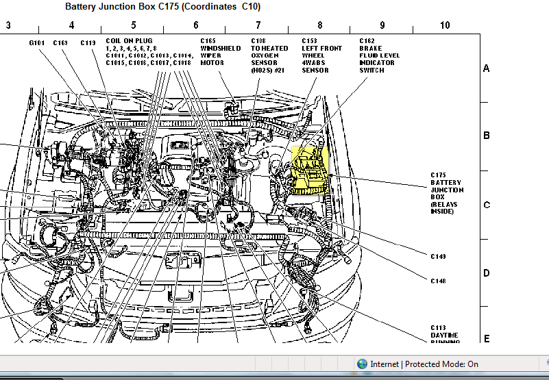 2000 Ford Expedition loudvibratingthe driver sideair intake – 2003 Ford Expedition Radio Wiring Diagram