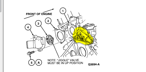 service manual  thermostat replacement 2009 mercury sable