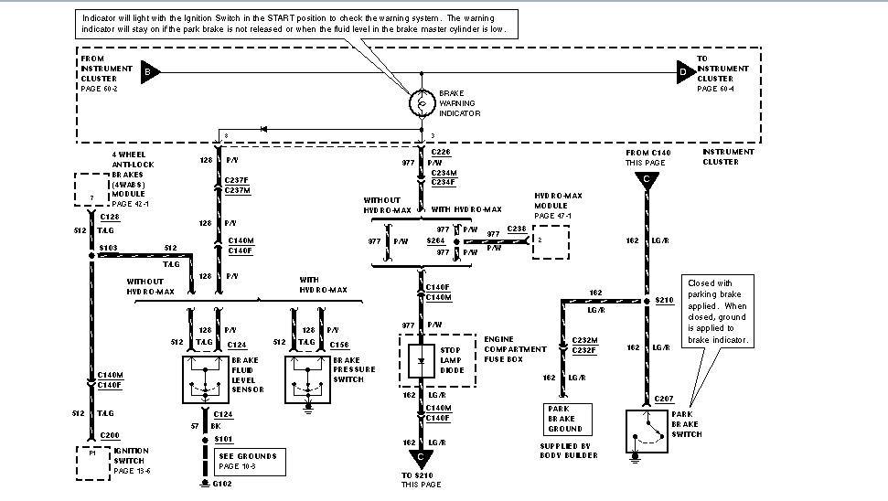 ford f53 trailer wiring diagram html
