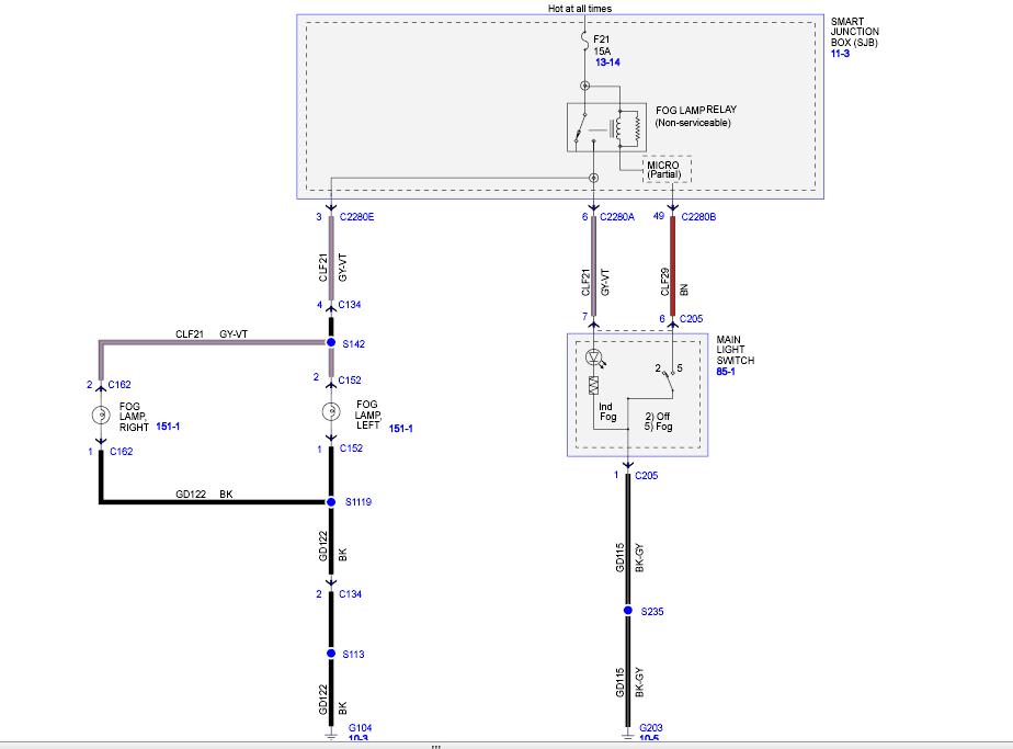2008 f450 fog lamps wiring harness passenger side or. Black Bedroom Furniture Sets. Home Design Ideas