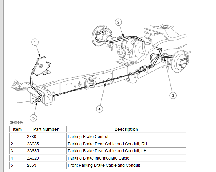 2000 Ford Explorer Emergency Brake Cable Manual Guide