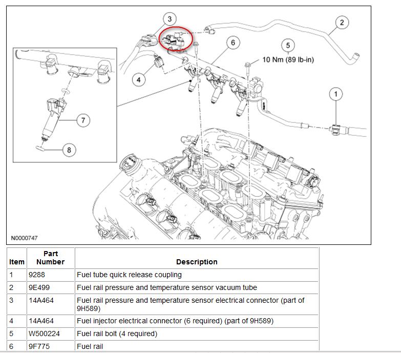 2004 Ford Explorer Fuel Rail Pressure Sensor Location Html