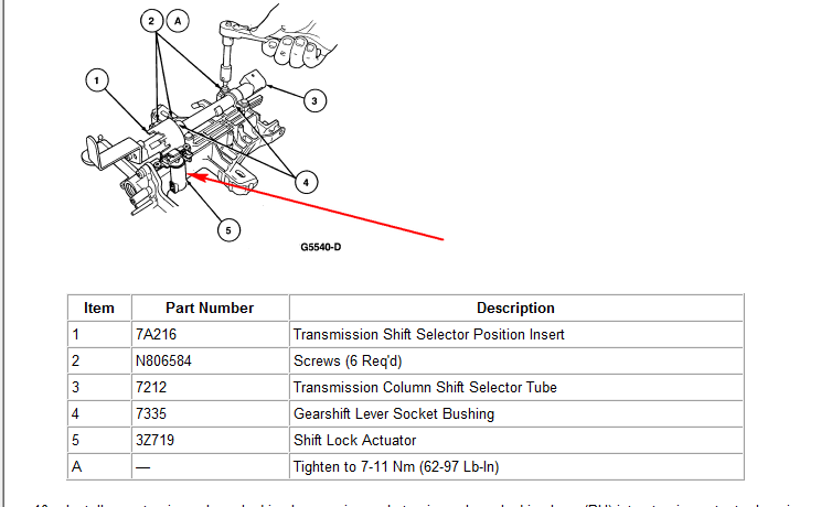 Where Is The Transmission Selector Lever Solenoid Located