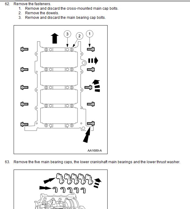 How Do You Adjust The Screws On The Maincaps Of A 4 6l
