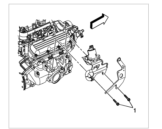 What Is The Location Of The Idle Air Control Valve On A 2007 Pontiac