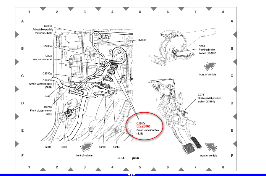 diagram of 2010 ford focus fuse box