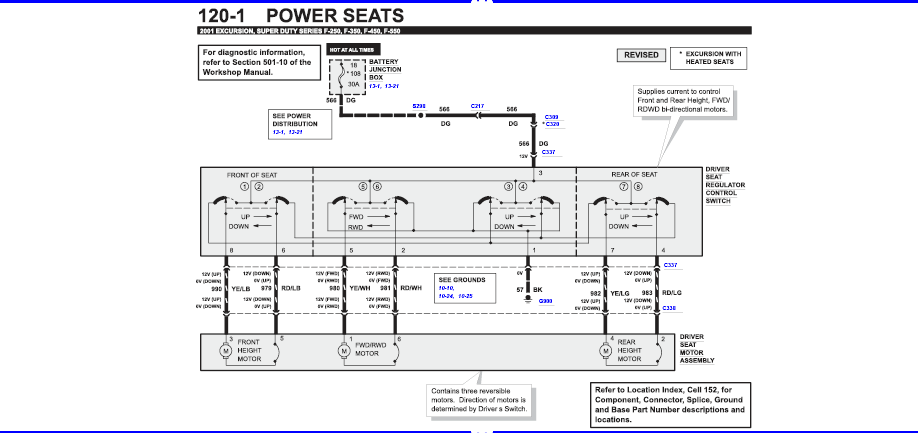 Need wiring diagram or info to install power ranch seats