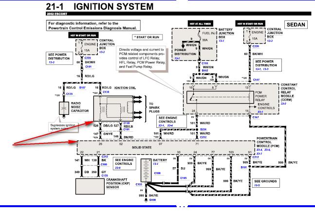 Graphic: 1999 Ford Escort Pcm Wiring Diagrams At Satuska.co