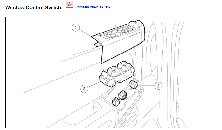 Ford Territory Power Window Wiring Diagram - Wiring Diagrams Schematics