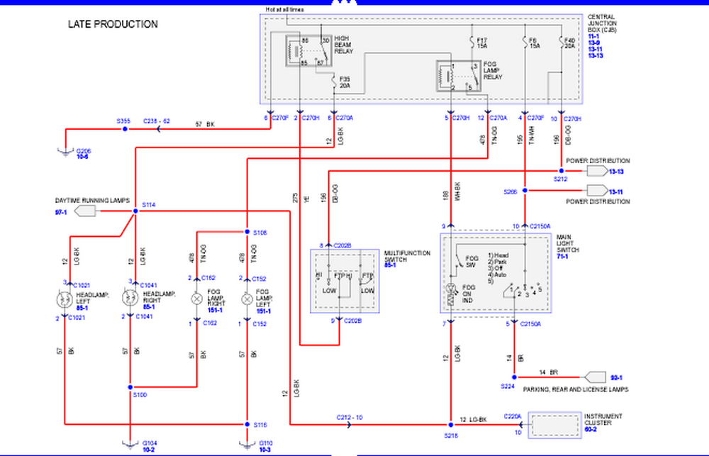 02 F350 Fog Light Wiring Diagram Schematic - Example Electrical ...