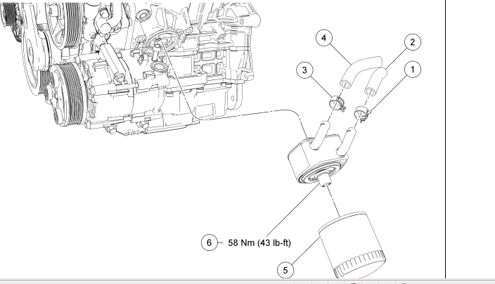 What Has To Be Removed Change The Coolant Hoses At Oil Filter. Ford. 2006 Ford Ranger Coolant Parts Diagrams At Scoala.co