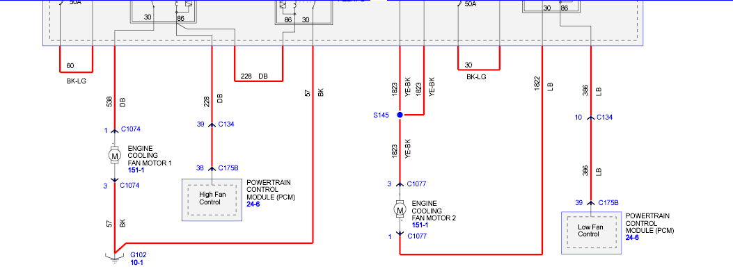 2005 Ford Escape Cooling Fan Wiring Diagram Images ...