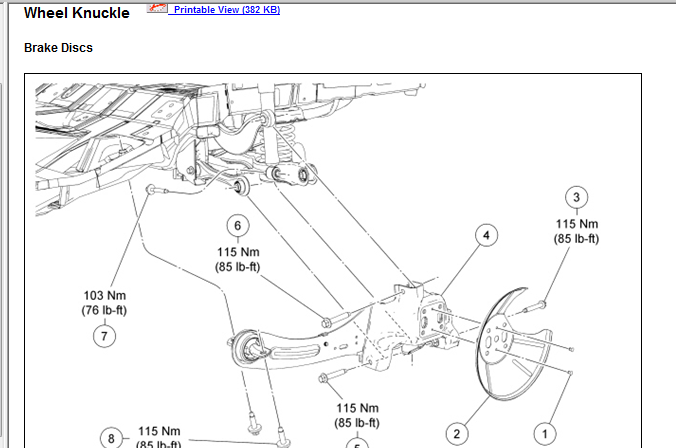 2007 ford focus: rear end dances like bump star,there..bushing