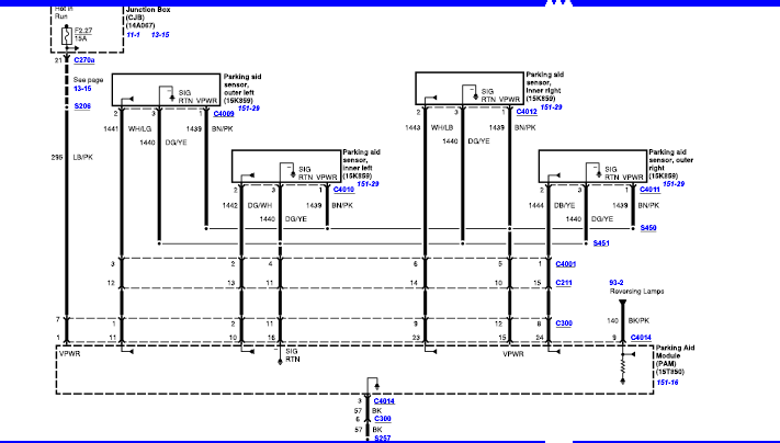 backup sensor wiring diagram backup sensor wiring diagram i am trying to install backup sensors to f-250. i have ... #1