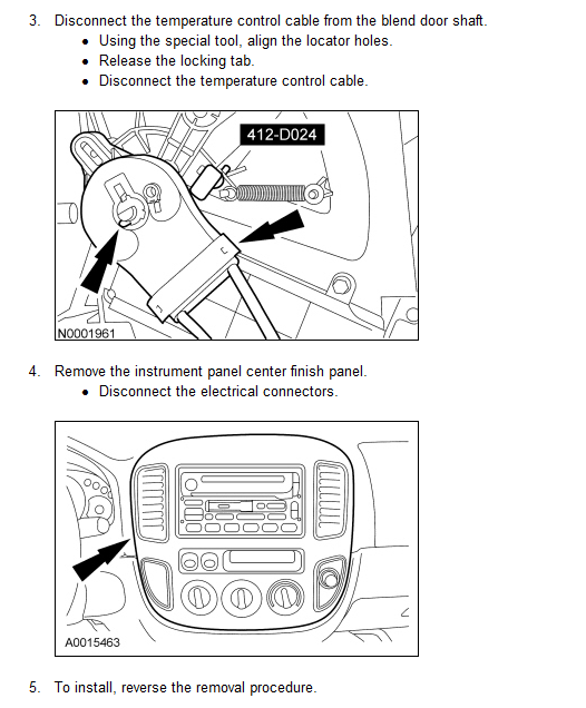 A CD is stuck in the 6-CD changer player in our 2005 Mazda