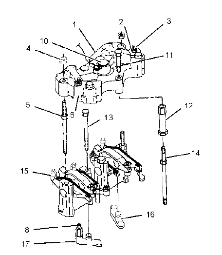 261002 moreover Series 60 Rocker Arm Parts besides Briggs Stratton Engine Parts Diagram With Regard To Briggs Stratton Engine Briggs And Stratton Parts Model On Techvi   Photos in addition 2001 Kia 1 8 Head Torque in addition Lift cover. on engine rocker arm