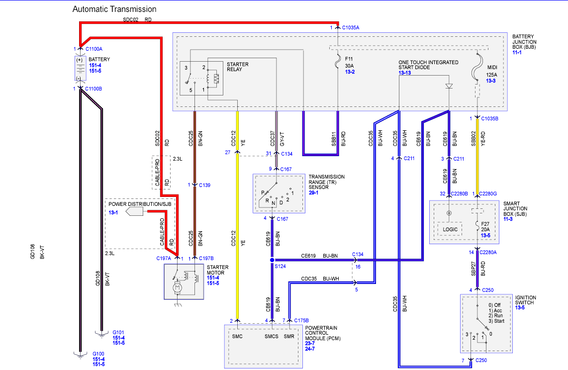 2007 Ford F650 Wiring Schematic Automotive Diagram Headlight 2008 Escape Will Not Start All Lights And Radio Wipers F750