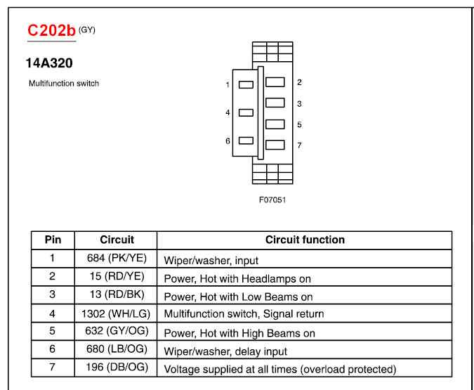 2012 02 05_000935_2 i have a 2003 ford sport track the blinker wire connecter e6db e6db 14489 da wiring diagram at soozxer.org