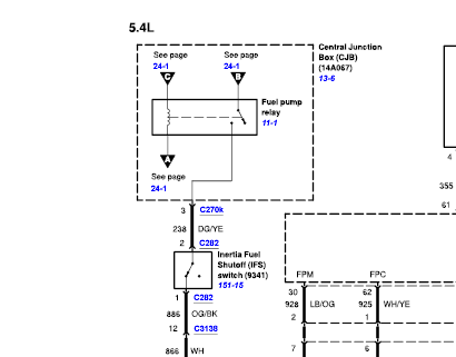 I have a 2004 ford f150 and im habing problems with the fuel pump. when i  try the fuel pump outside the fuel tank it | 2002 F150 Fuel Pump Wiring Diagram |  | JustAnswer