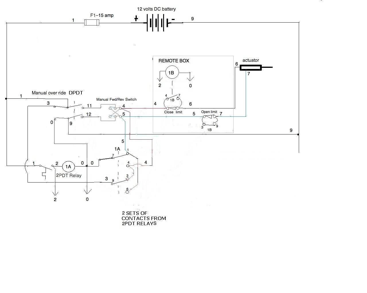i need a wiring diagram for a 12v application all components are rh justanswer com