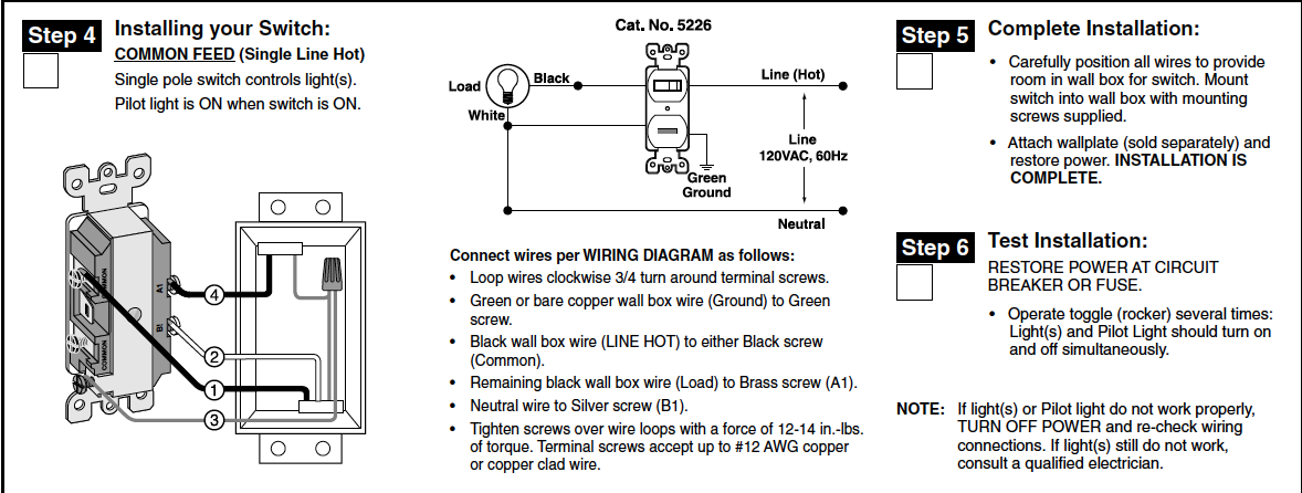 Leviton 5226 wiring diagram data wiring diagrams i am trying to install one of your 5226 combination switch and pilot rh justanswer com leviton t5225 wiring diagram leviton t5225 wiring diagram swarovskicordoba Image collections