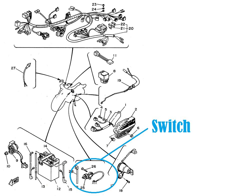 Switch on Roketa 150 Wiring Diagram