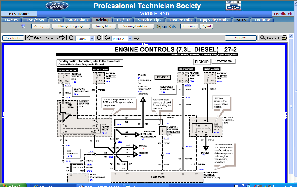2010 05 11_005756_2000_7.3_eng_contr_wiring 2 2000 f350 diesel 7 3 l powerstroke 4wd truck died no wait 7.3 Powerstroke Diesel Engine Diagram at bayanpartner.co