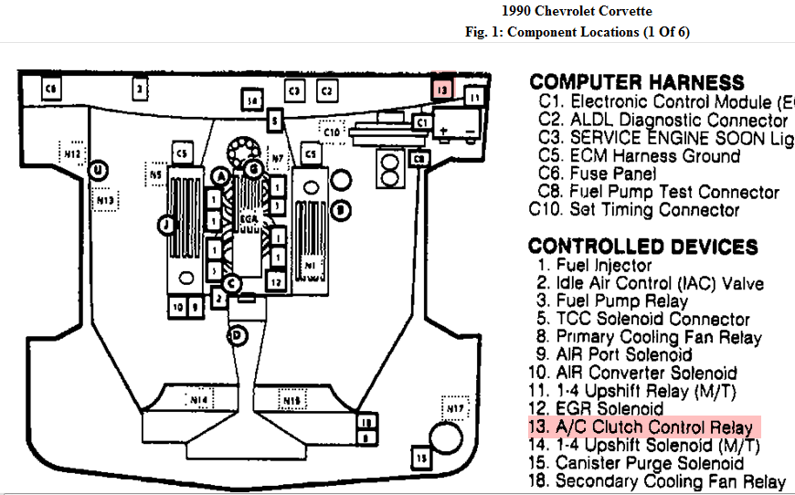 87 corvette fuse box location   29 wiring diagram images