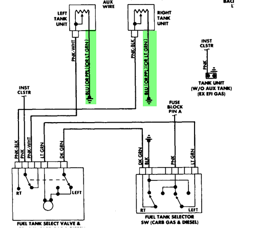 wiring diagram dual tanks fuel schema wiring diagram oil tank diagram i have a 1988 chevy r30 truck with dual tanks the problem is that jake brake wiring diagram wiring diagram dual tanks fuel