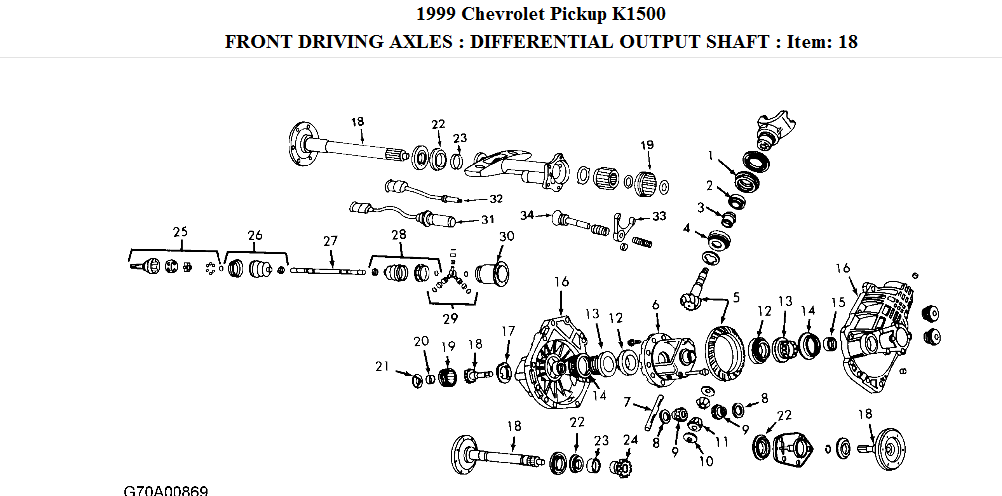 I Need A Parts Diagram And List Of Part Numbers For The Front Rhjustanswer: Chevy Silverado Parts Diagram At Gmaili.net