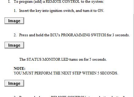toyota camry alarm system reset
