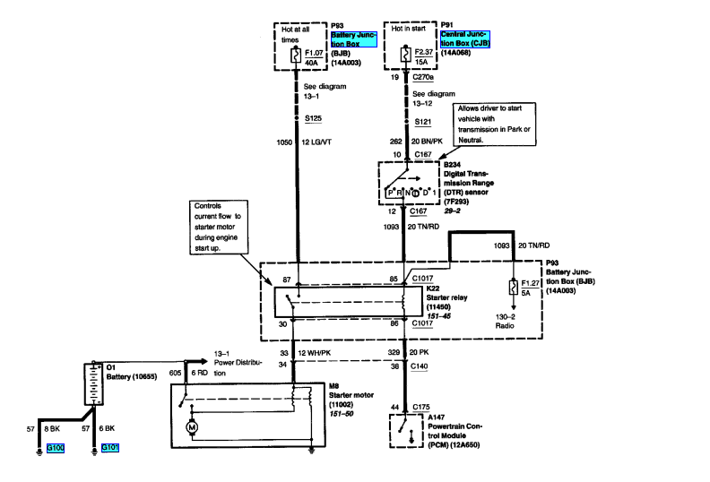 Ford together with Starter Relay as well D Alternator Regulator Wiring Assistance Alternator Ford moreover Ford A Fuse Box Diagram likewise Maxresdefault. on ford starter solenoid wiring diagram