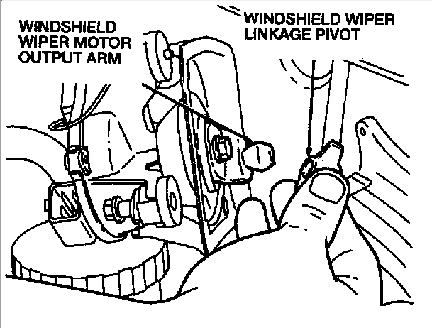 how do i remove the windscreen motor assembly from a 1997 ford 2004 Cavalier Windshield Wiper Diagram full size image