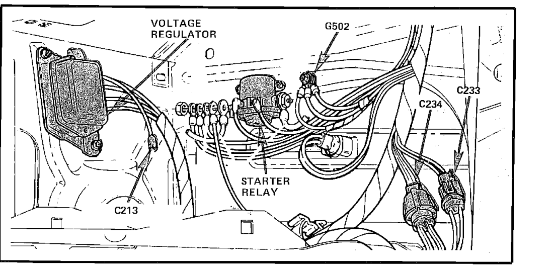 1986 ford f150 starter wiring diagram 1986 ford ranger starter wiring diagram
