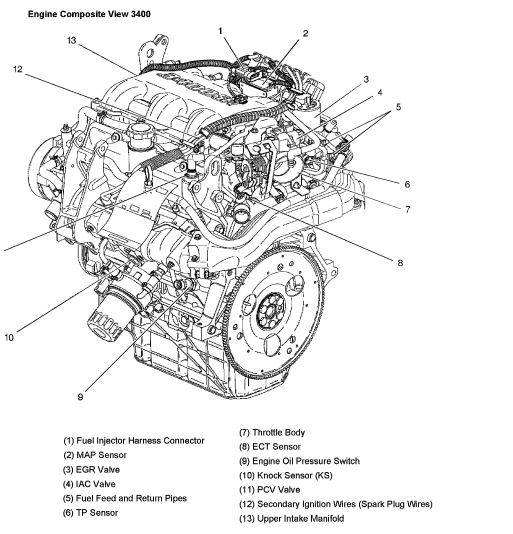 2001 chevrolet venture engine diagram