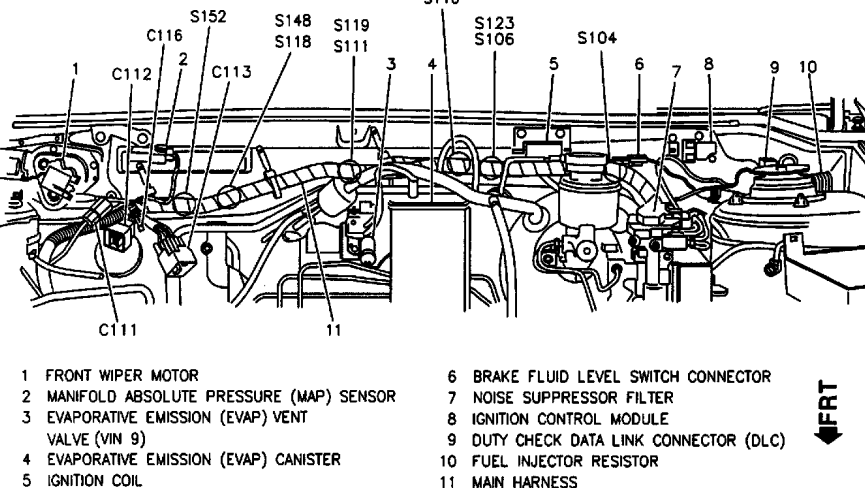 1992 geo metro 1 0 engine diagram