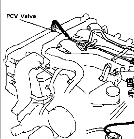 Could You Please Tell Me Where I Can Locate The Pcv Valve On My