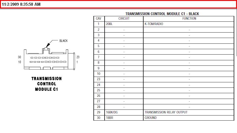 Sprinter Wiring Diagrams Tcm - Wiring Diagrams Dock