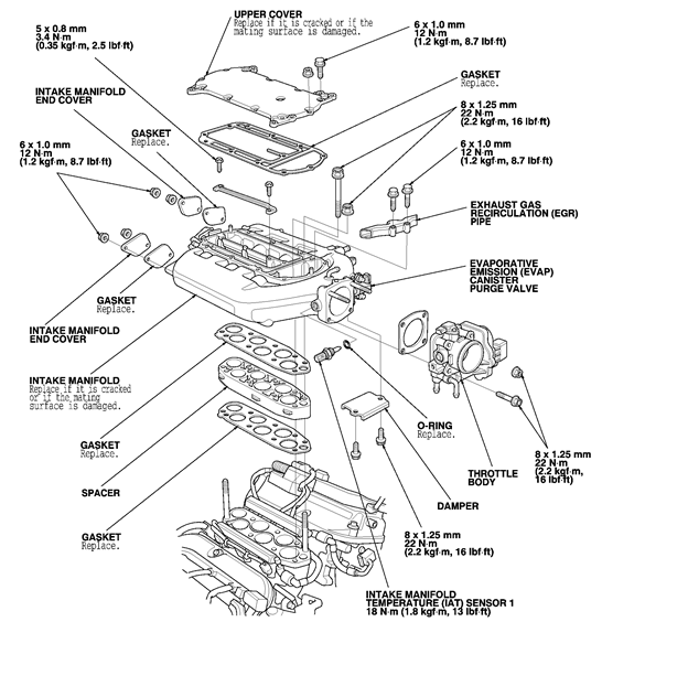 2007 acura tl engine diagram 2007 acura tl maf sensor