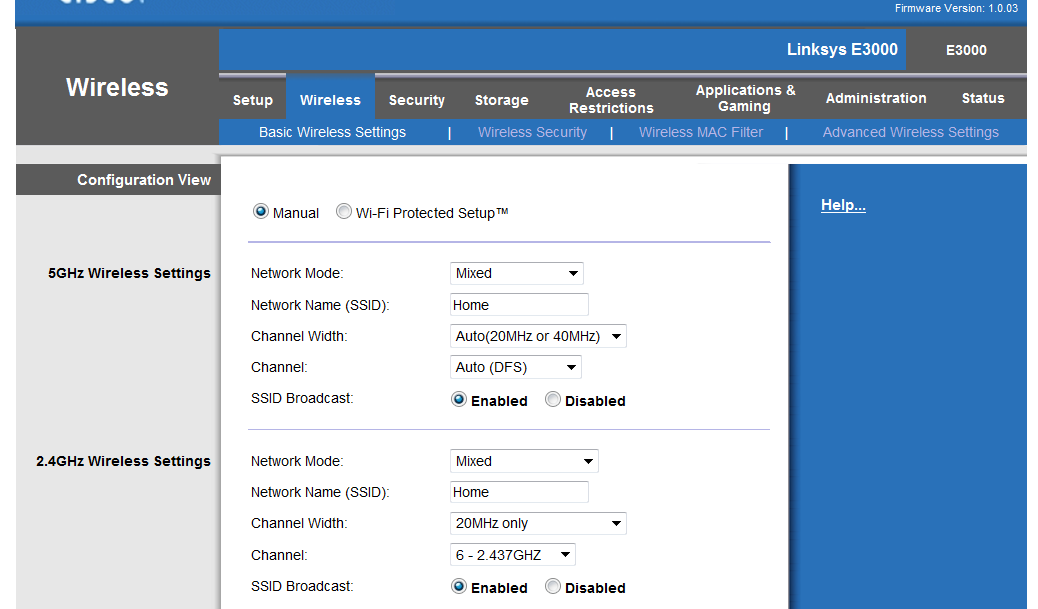 I upgraded our exsiting Linksys WRT54G Wireless router to a Cisoc ...