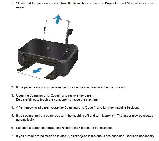 Canon Mp280 Printer Manual